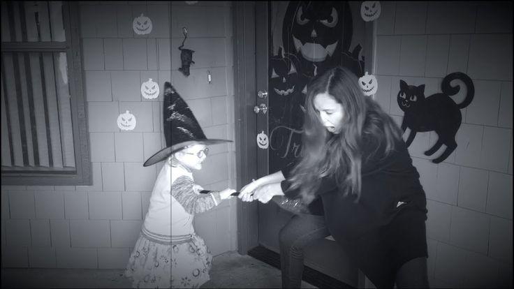 Хэллоуин  Как украсить входную дверь Злая ведьма / LizaTheFirst