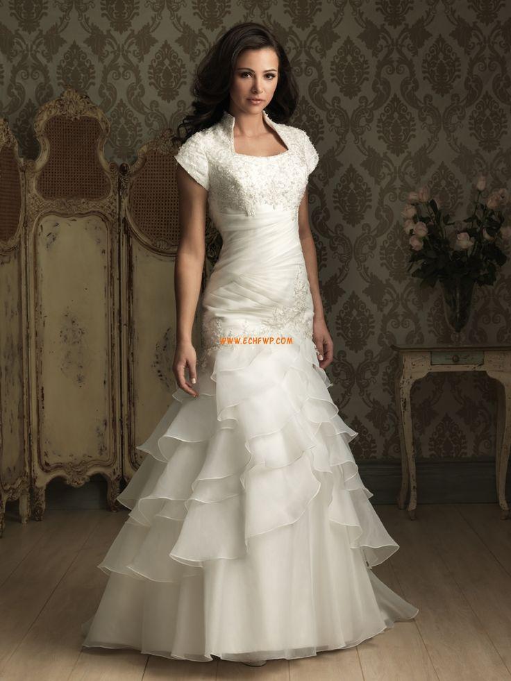 Kostel Léto Zip Svatební šaty 2013