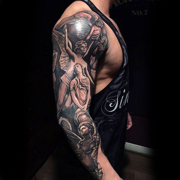 100 Religious Tattoos For Men - Sacred Design Ideas