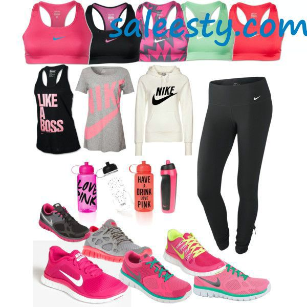 pink nike free run sneakers are so cheap for womens all under $50 #cheap #