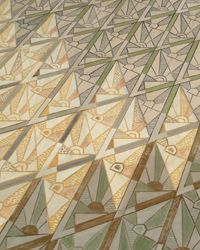 Decorative Diamonds: I have seen the most beautiful murals at the City Hall in Oslo...[design blog]