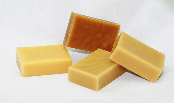$18 400g Natural Beeswax ingots | Set of 4 x100 grams (3.5 oz) each
