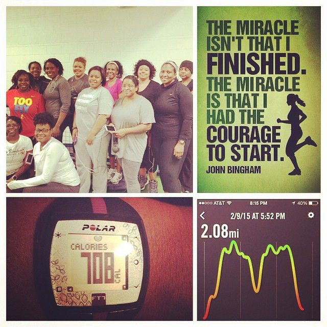 Monday Workout!  #cardio #racetraining #bootcamp #blackgirlsrun #nikerunning #polarft7 #accomplishinggoals #grind #weightlossjourney