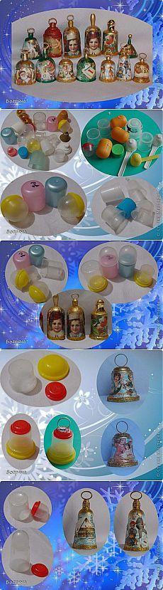 Делаем колокольчики из пластиковых контейнеров. Мастер-класс | Умелые ручки