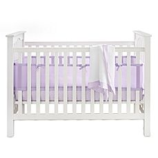 image of BreathableBaby 3-Piece Bedding Set in Lavender