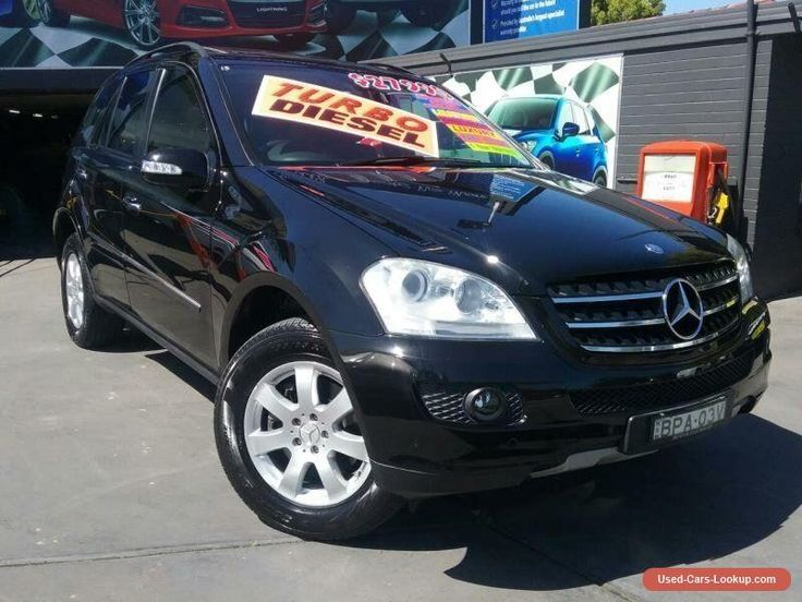 2007 Mercedes-Benz ML W164 07 Upgrade 320 CDI (4x4) Black Automatic 7sp Wagon #mercedesbenz #ml #forsale #australia