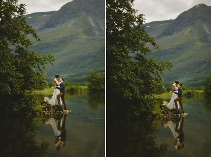 Fjord Wedding in Norway- way too beautiful, look at the ...