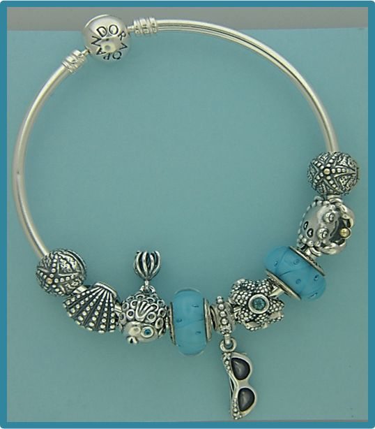 New Pandora Charms on the New Bangle! Summer holidays in a perfect package