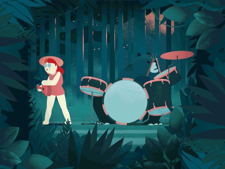 Bear drums