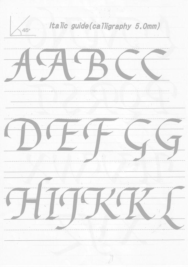 89 besten Calligraphy/ Handwriting Bilder auf Pinterest ...