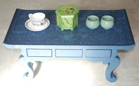 Tea Box Jewelry Box Cosmetic Box Multi Purpose by koreanpaperart7