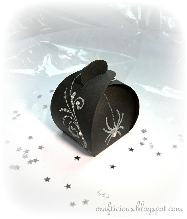 Boite pour paquet-cadeau à quatre ailes et sans collage ~ tuto : Crafticious
