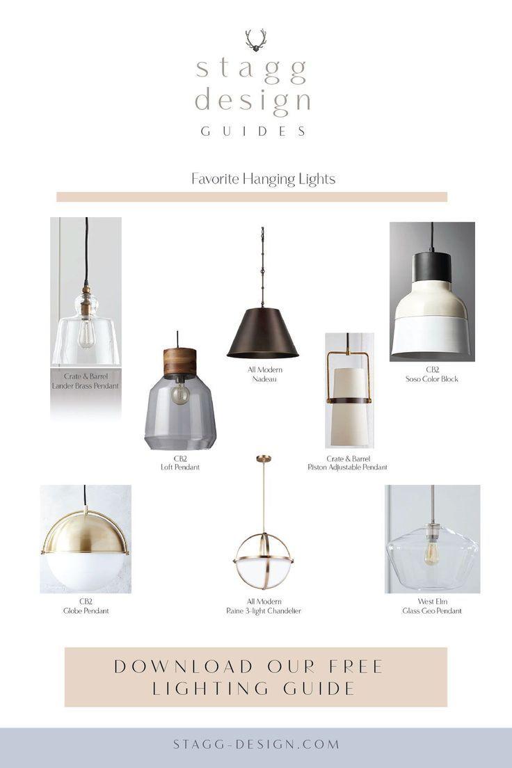Lighting Guide For The Kitchen Lighting Guide Design Guide Kitchen Island Lighting Modern