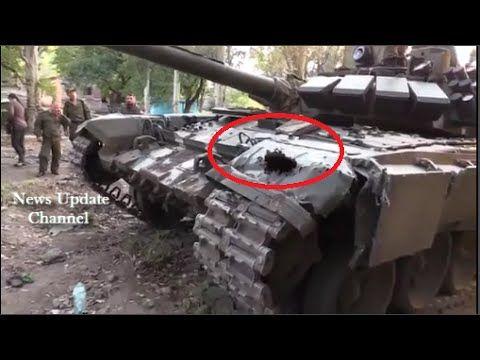 Ukraine War -- Arresting Ukrainian Militia T-72M Tank Type | Ukraine