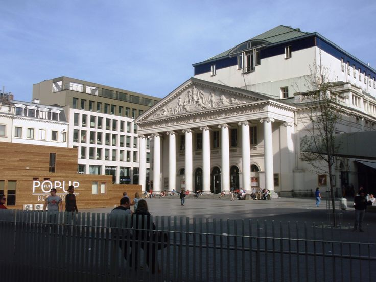 BELGIUM - BRUSSELS central square