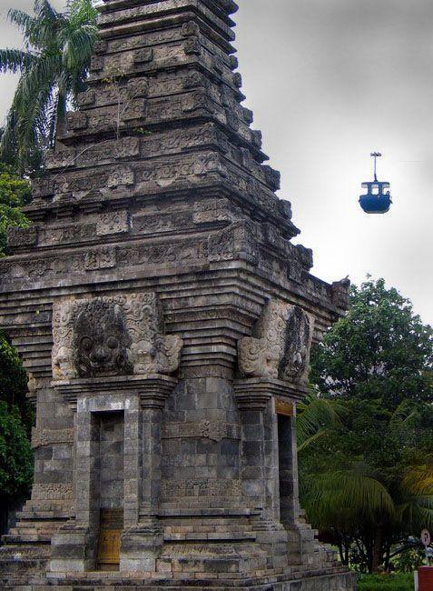 UFO visited Candi Singosari - Taman Mini Indonesia Indah, Jakarta Raya