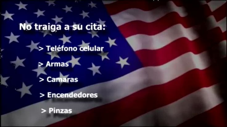 In this video a vice consul describes the simple steps to apply for a U.S. visa at the Embassy or Consulate in Mexico. The video highlights the application process for first time applicants and renewals, what to expect at your visa interview and how to verify the delivery of your visa approved.