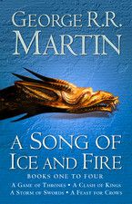 A Song of Ice and Fire, 5 Book Set Series: A Game of Thrones, A Clash of Kings, A Storm of Swords, A Feast for Crows, A Dance with Dragons