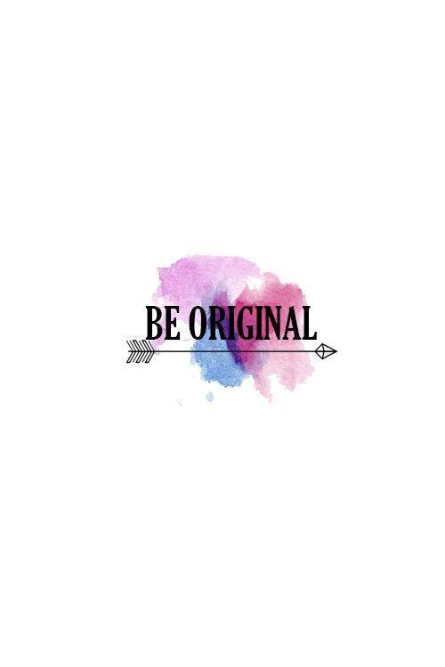 Seja original Mais