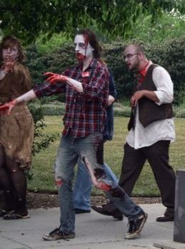How to throw a Zombie Theme party ... oh my - we'll have to warn the neighbours :o)