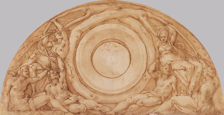 File:Jacopo Pontormo - Study for the Lunette with Vertumnus and Pomona - WGA18125.jpg