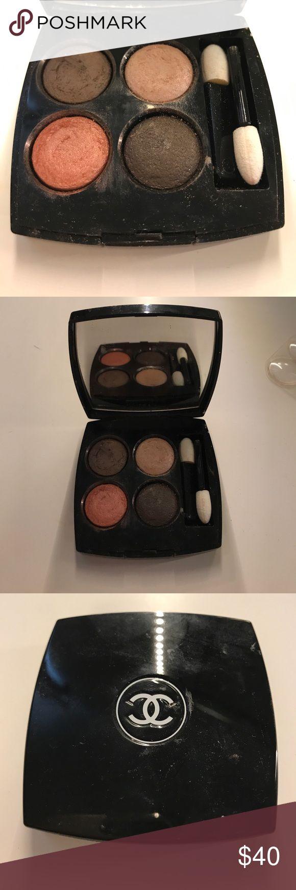 Chanel eyeshadow quad Hardly used chanel eyeshadow quad. CHANEL Makeup Eyeshadow