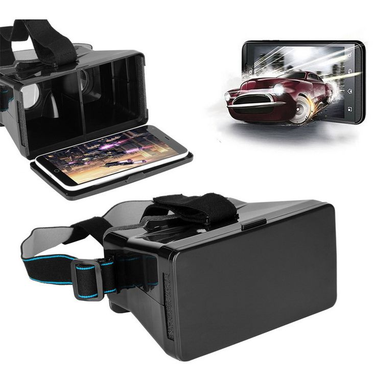 Universal 3D Headset VR Video Virtual Reality Glasses For iPhone 6 3.5~6'