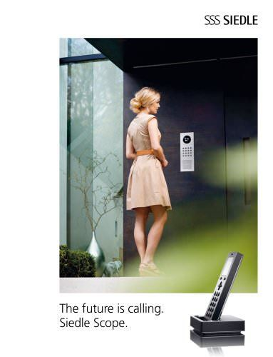 Consult SSS SIEDLE's entire Siedle Scope - The future is calling catalogue on ArchiExpo. Page: 1/7