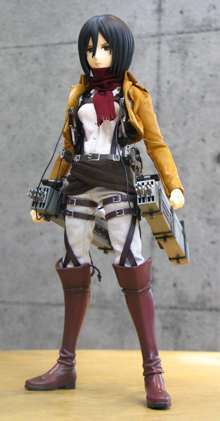 [New Articulated Figure] Medicom RAH Mikasa Ackerman ready to attack Titans in 2014 - http://sgcafe.com/2013/10/new-articulated-figure-medicom-rah-mikasa-ackerman-ready-attack-titans-2014/