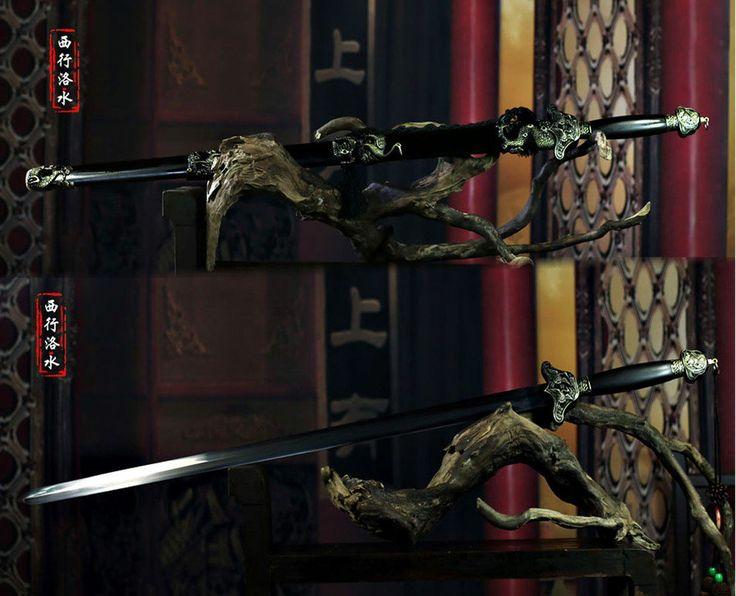 Royal Black Wood Crane Sword via Asia-Sale Best Tai Chi, Kung Fu Clothing
