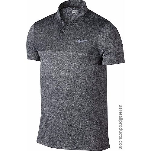 Nike Golf MM Fly Blade Block Polo, Black, Medium