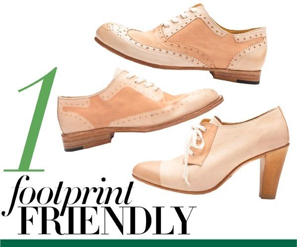 leather brogues + cap toe heels