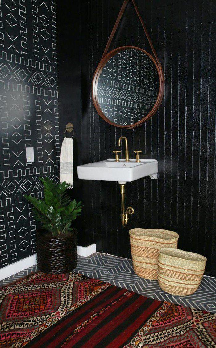 La Beaute De La Salle De Bain Noire En 44 Images Amber