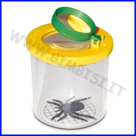 Lente didattica con contenitore lente di ingrandimento il - Specchio con lente di ingrandimento ...