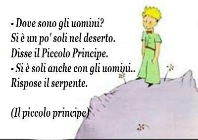Piccolo Principe docet