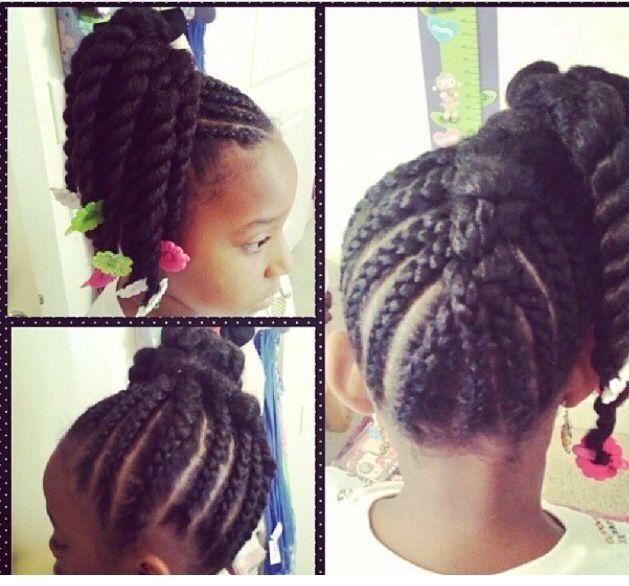 Cute cornrows and twists - Black Hair Information Community