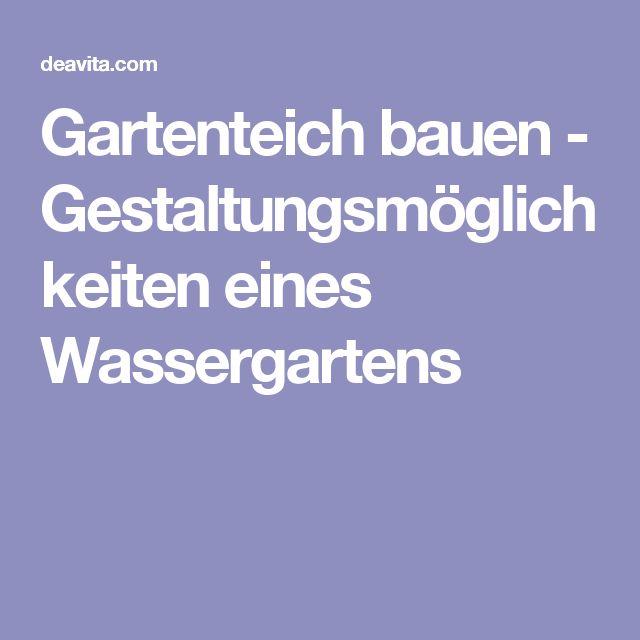 25 best ideas about gartenteich bauen on pinterest. Black Bedroom Furniture Sets. Home Design Ideas