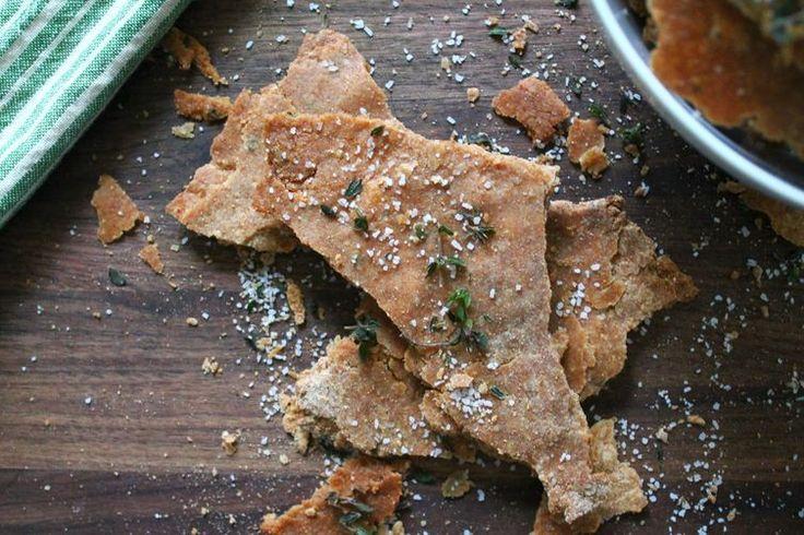 Olive Oil, Thyme & Sea Salt Crackers recipe on Food52
