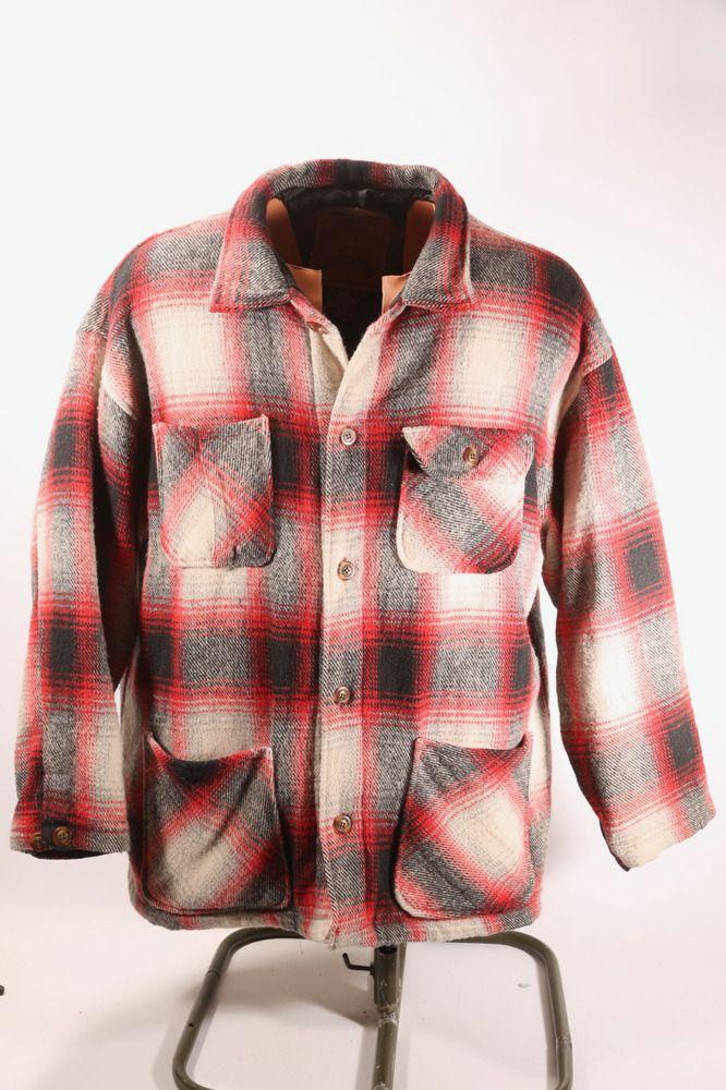 d76d05b38 URBAN EQUIPMENT Country Heavy Wool Jacket Coat Parka Mens Size XL ...