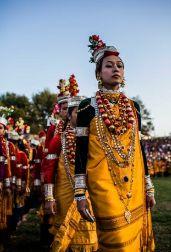 Khasi lady from Meghalaya.
