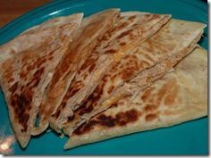 Imitation Taco Bell Quesadilla sauce! I just LOVE the sauce they put in their chicken quesadillas, now I can make my own!