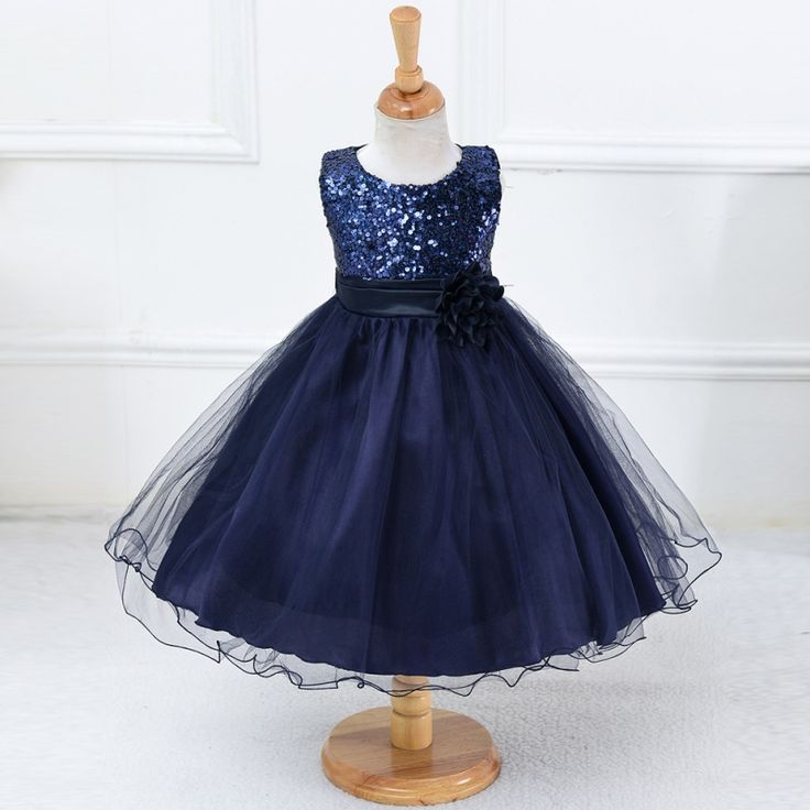 3-15Y Girls Dresses Children Ball Gown Princess Wedding Party Dress Girls Summer Party Clothes High Quality