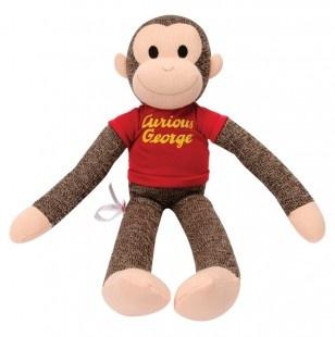 Curious George Sock Monkey