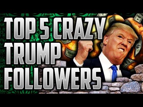 TOP 5 CRAZIEST/ RACIST/ RUDE TRUMP SUPPORTERS OF ALL TIME | THE WORST OF THE WORST - YouTube