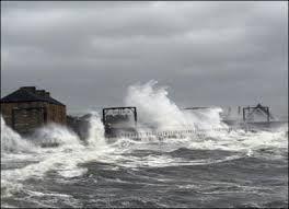 Goffa'd on the Ayrshire coast.