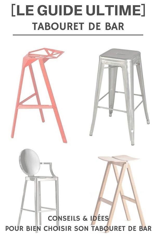15 best tabourets de bar images on pinterest bar stools. Black Bedroom Furniture Sets. Home Design Ideas