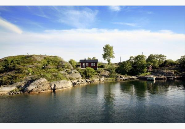 Island Berghamn in Finland