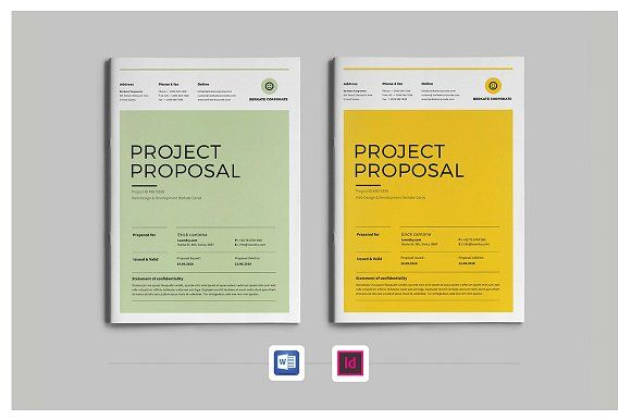 Project Proposal by Occy Design on @creativemarket #proposal #webdesign #webdevelopment #brochure #stationery #branding #design
