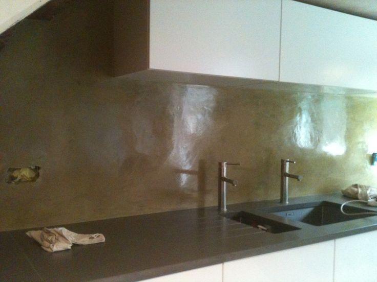 Tedelakt kitchen finish by Dan Dixon-Spain - London