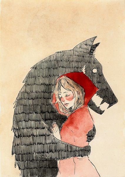 Alba Filella, little red riding hood